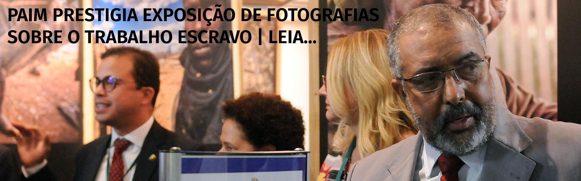 exposição de fotografias